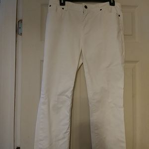 Women's Talbots Heritage White Petite Jeans